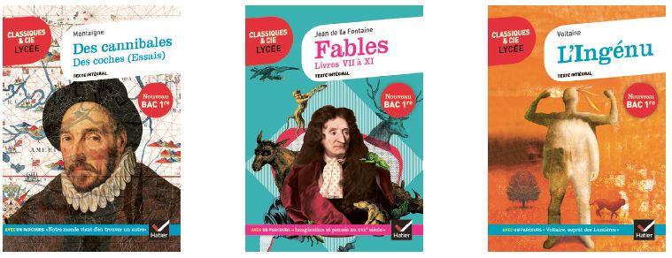 Montaigne, Essais - La Fontaine, Fables - Voltaire, L'Ingénu